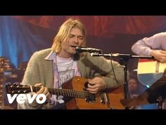 Music video by Nirvana performing About A Girl. (C) 1994 Geffen Records Kurt Cobain, Donald Cobain, Music Songs, My Music, Music Videos, Sound Music, Guitar Songs, Music Mix, Toddler Girls