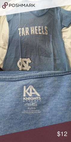 Tarheels tshirt NWOT Tarheels tshirt NWOT Knights Apparel Tops Tees - Short Sleeve