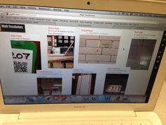 Math Vocabulary Padlet Walls