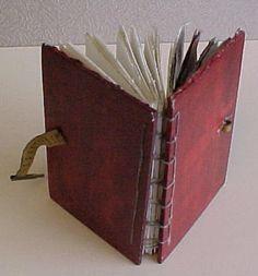 Coptic book binding... great tut