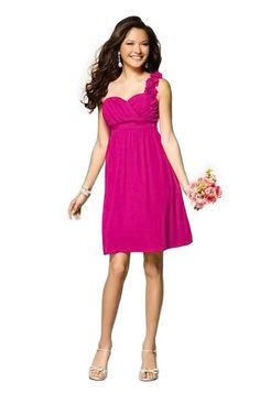 Hot Pink Bridesmaid Dresses & Hot Pink Bridesmaid Gowns | Weddington Way. Fav. #1