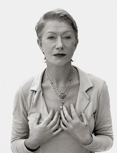 Helen Mirren,photo by Mary McCartney, London, 1998
