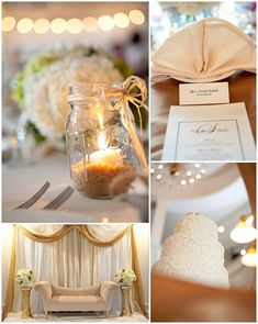 shabby chic wedding photography- sand in the mason jar... Gives height...!
