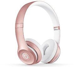 Beats Solo2 Wireless On-Ear Headphone - Rose Gold: Amazon.co.uk: Electronics
