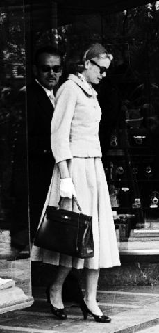 Prince Rainier and Princess Grace- a little shopping