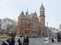 Jefferson Market, now a public library, Greenwich Village, NY. What a history of this building, read the link to Forgotten NY..  Thanks to Leslie Holman for the pin & link.