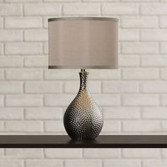 """Found it at Wayfair - Gama 21.5"""" H Table Lamp with Drum Shade"""