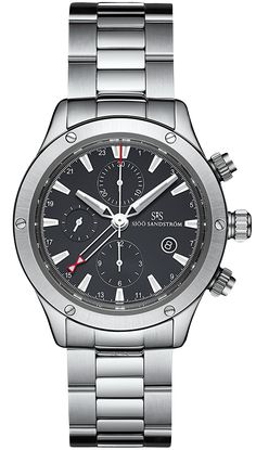 Watches, handmade in Sweden Yacht Fashion, Rubber Bracelets, Omega Watch, Rolex Watches, Sweden, Handmade, Tic Toc, Accessories, Black