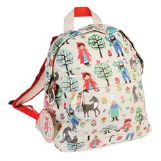 Perfect for daycare or a day out, I love these Rex London children's mini backpacks in Red Riding Hood, Flamingo, Space Boy and Creature designs. Toddler Backpack, Small Backpack, Mini Backpack, Drawstring Backpack, Mini Mochila, Nylons, Nursery Bag, Kids Backpacks, Red Riding Hood