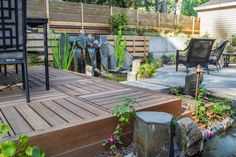 We design and create beautiful landscapes focused on outdoor living. Wonder what exactly Ross NW Watergardens offers? Come see what our family landscaping company can do for yours!