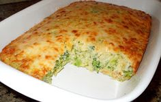 Melissas Southern Style Kitchen: Broccoli-Cheese Cornbread