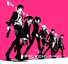 Kagerou Project Psycho-Pass!!! Heck yes!!!