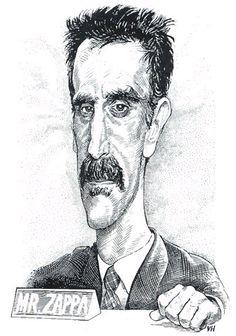 Frank Zappa was a big fan and friend of Matt Groening (The