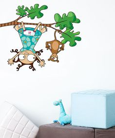 Take a look at this Lou & Kiki Wall Decal by ADzif on #zulily today!