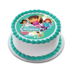 Dora and Friends Time for Aventura Cake