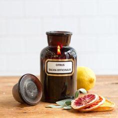 Terrain Apothecary Candle, Sage & Citrus #shopterrain