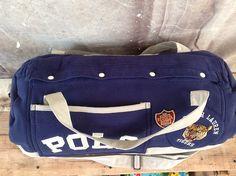 340f4eb450 Custom Polo Sport duffel bag... Pocket on side instead of middle. Good