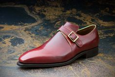 """The Arca Boucle or """"Monk Strap"""" is an evolution from the timeless Arca, keeping the same shape but with a more casual spirit. Originally, the """"Monk"""""""