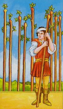 Nine Of Wands, Rider Waite Tarot Cards, Tarot Significado, Tarot Cards For Beginners, Tarot Gratis, Online Tarot, Tarot Card Meanings, Tarot Card Decks, Decks