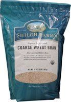 Shiloh Farms Organic Unprocessed Coarse Wheat Bran  32 oz ** Find out more about the great product at the image link.(This is an Amazon affiliate link and I receive a commission for the sales)
