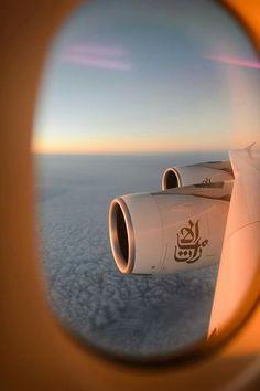 Fly to Dubai. Emirates Flights, Emirates Airline, Emirates A380, Airplane Window, Airplane View, Airplane Photography, Travel Photography, New Foto, Photo Avion