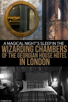 This what it's like to stay within the Wizarding Chambers in the Georgian House Hotel in London. Plus, a few other Potter-related activities you can indulge in during your time in the UK's capital. #London #England #HarryPotter #UnitedKingdom #Hotels #traveltips