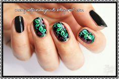 me, myself and my nails: Różane kolorowanki - BPS floral BPX-L017 plate rev...