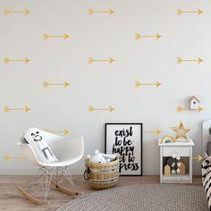 Boho Arrow Wall Decals | Arrow Stickers | Tribal Decals | Woodland Decal | Nursery Wall Stickers | Kids Room Stickers | Tribal Wall Stickers Arrow Nursery, Kids Room Wall Stickers, Nursery Wall Stickers, Nursery Themes, Arrows, Woodland, Wall Decor, Boho, House