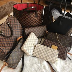 54b73168b0e4 All Louis Vuitton Collection. Classic Monogram   Damier Handbag To Wear. Louis  Vuitton Totes