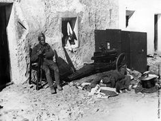 Spain - 1936. - GC - Soldiers on the nationalist side. They succeeded in overthrowing the republican government.