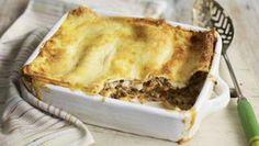 Vegetarian puy lentil lasagne