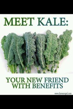 Paleo fruit and veggies kale