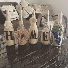 Home Wine bottles