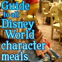 Guide to all Disney World character meals from @Shannon Bellanca Bellanca, WDW Prep School - which characters appear at each meal, prices, menus, pros/cons
