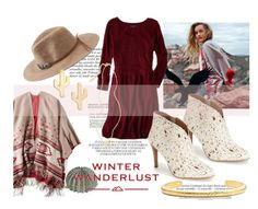 """""""Winter Wanderlust with American Eagle: Contest Entry"""" by k-mendez-dxlii ❤ liked on Polyvore featuring Anja, American Eagle Outfitters, CAM, Lucky Brand and aeostyle"""