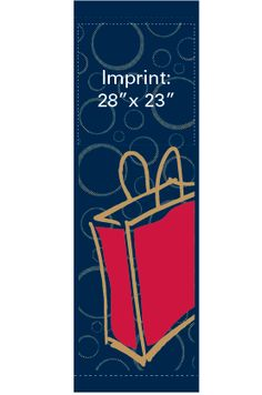 Let's Shop - Stock banner 14209 Screen print outdoor fabric banners by Consort Display Group. #screenprint