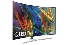 Samsung Electronics QN55Q7C Curved 55-Inch 4K Ultra HD Smart QLED TV (2017 Mode