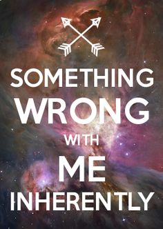 SOMETHING WRONG WITH ME INHERENTLY (DEPECHE MODE-WRONG)