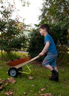 Twigz Wheel Barrow - hardtofind. #hardtofind #outdoor #gifts
