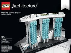 Lego Architecture Marina Bay Sands Review