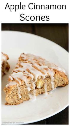 cinnamon scones are packed with chunks of apple and spicy cinnamon ...