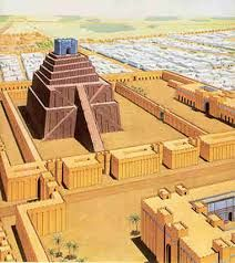 Tower of Babylon (aka Babel aka Etemenanki) Ancient Mesopotamia, Ancient Civilizations, Ancient Egypt, Ancient History, Ancient Buildings, Ancient Architecture, Babylon City, Epic Of Gilgamesh, Art History
