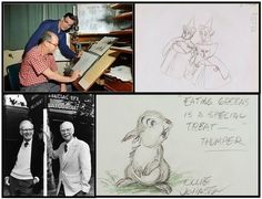 "Ollie Johnston – along with his lifelong friend, Frank Thomas, Ollie joined the Disney team in 1935.The duo was commonly referred to as ""Frank and Ollie"" as they were inseparable as colleagues and friends. After retiring from Disney in 1978, the two would continue on to co-author a numbers of books on the art of animation. Noteable characters he animated include Pinocchio from Pinocchio, Mr. Smee from Peter Pan, and the Evil Stepsisters from Cinderella."