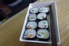 Sushi (2) MARIDAJES en Alcón Valdés. 11-04-13 #Merayo