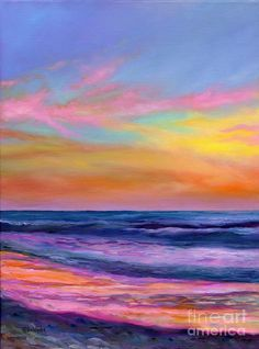 Coastal Oil Painting Painting - Sailors Delight by Eve  Wheeler