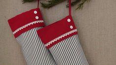Handmade  Christmas stocking by grandmaland on Etsy, £19.50