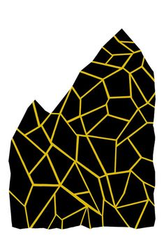 Black and Yellow by ashleyg on Etsy, $32.00