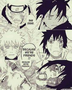 #naruto #sasuke #friends