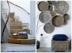baskets  blissfulb - bliss blog - bloomingville