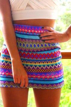 Cute summer skirt.